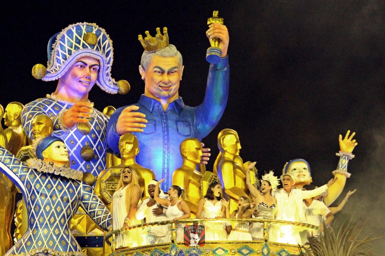 Nizo Neto, filho de Chico Anysio comenta sua participação no Carnaval de SP
