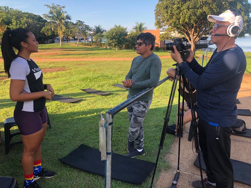 Série documentário sobre esporte e saúde é produzida em Palmas