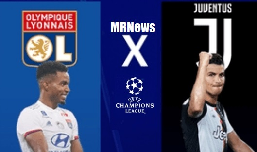Assista AO VIVO Lyon x Juventus pelas oitavas de final da Champions League