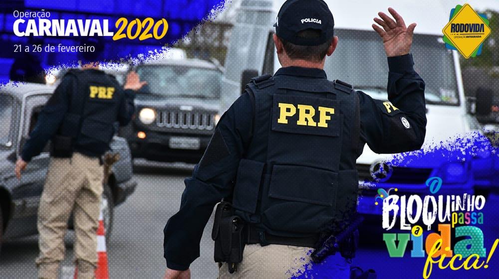 PRF dá início a Operação Carnaval 2020