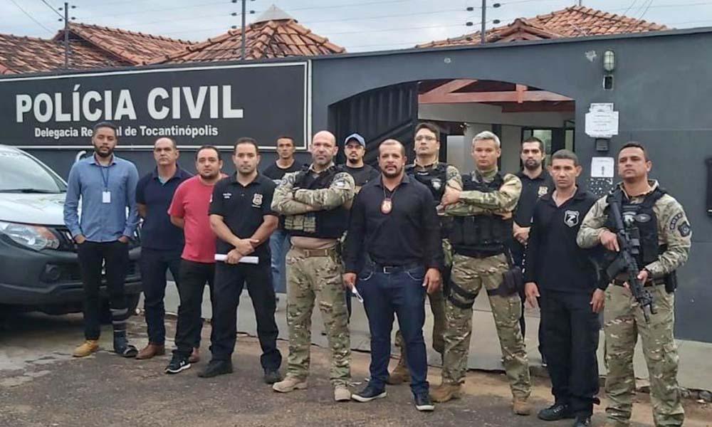 Operações deflagradas pela Polícia Civil contribuem para redução da criminalidade no Tocantins