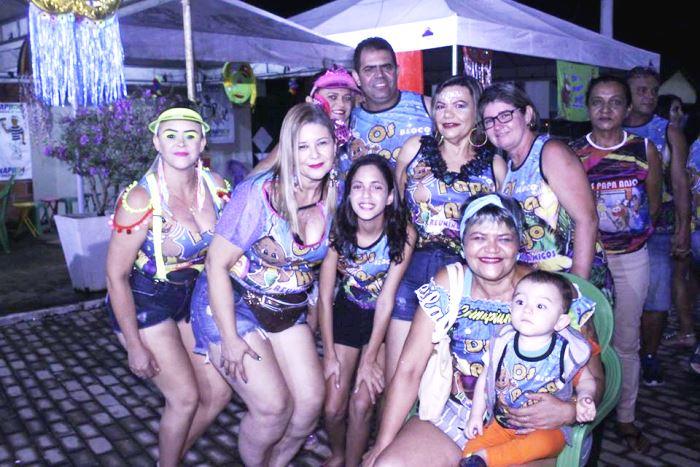 Rainha e rei momo são eleitos na primeira noite de carnaval em Pium; festa segue até segunda, 24