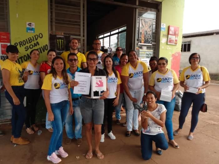 Saúde municipal de Marianópolis promove ação de conscientização para um carnaval seguro