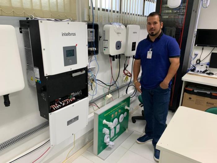 Técnicos da Total Solar e Segurança, maior empresa de energia fotovoltaica de Paraíso do Tocantins e região, participam de capacitação na sede da Intelbras
