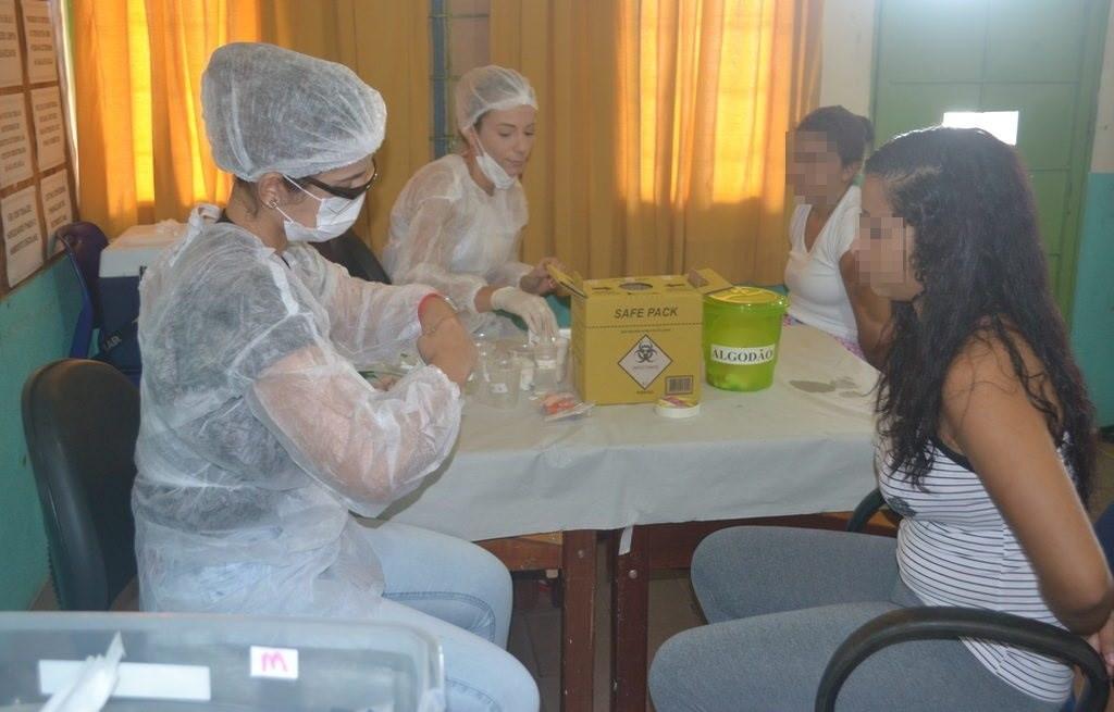 Reeducandas da Unidade Prisional Feminina de Palmas são atendidas em mutirão de saúde