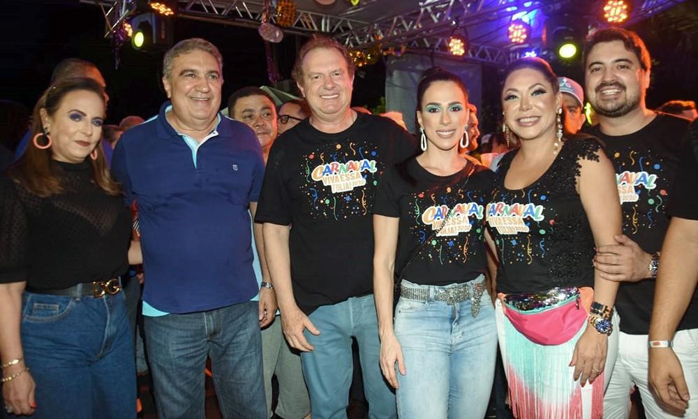 Governador Mauro Carlesse prestigia Carnaval de Gurupi