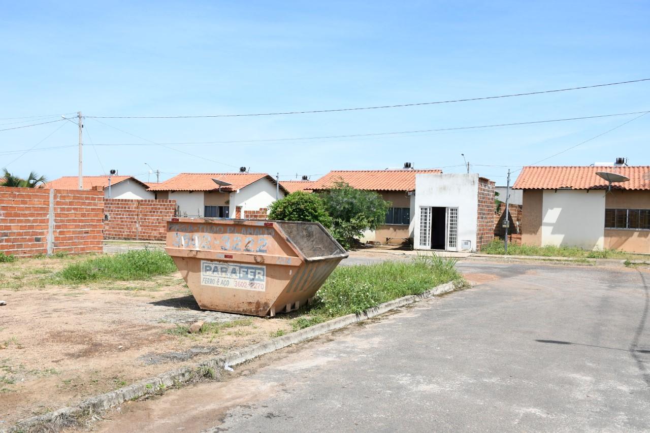 Prefeitura de Paraíso informa que contêineres já estão à disposição da população para descarte de entulhos