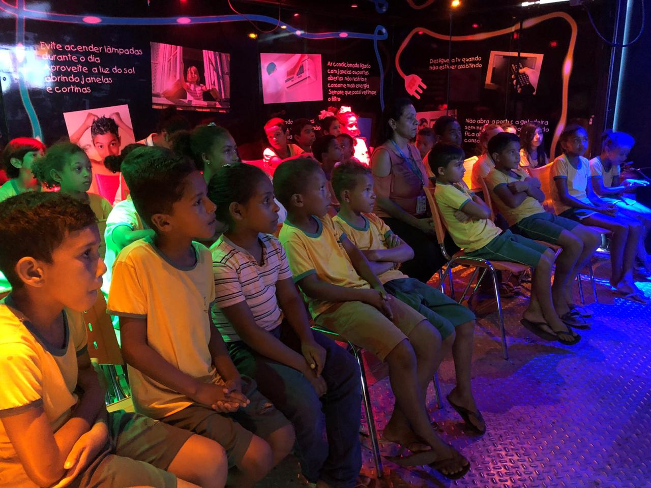 Estudantes do Tocantins conhecem o mundo da energia