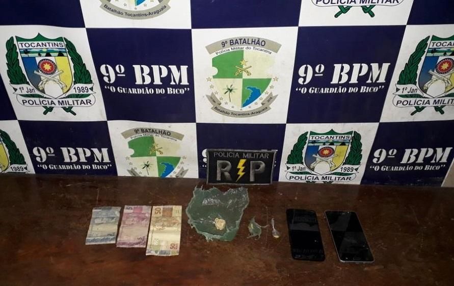 Ação das polícias Civil e Militar prende cinco pessoas e apreende adolescente suspeitos de tráfico em Augustinópolis