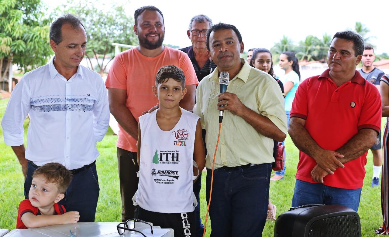 Deputado Elenil leva R$ 320 mil em obras para Miranorte