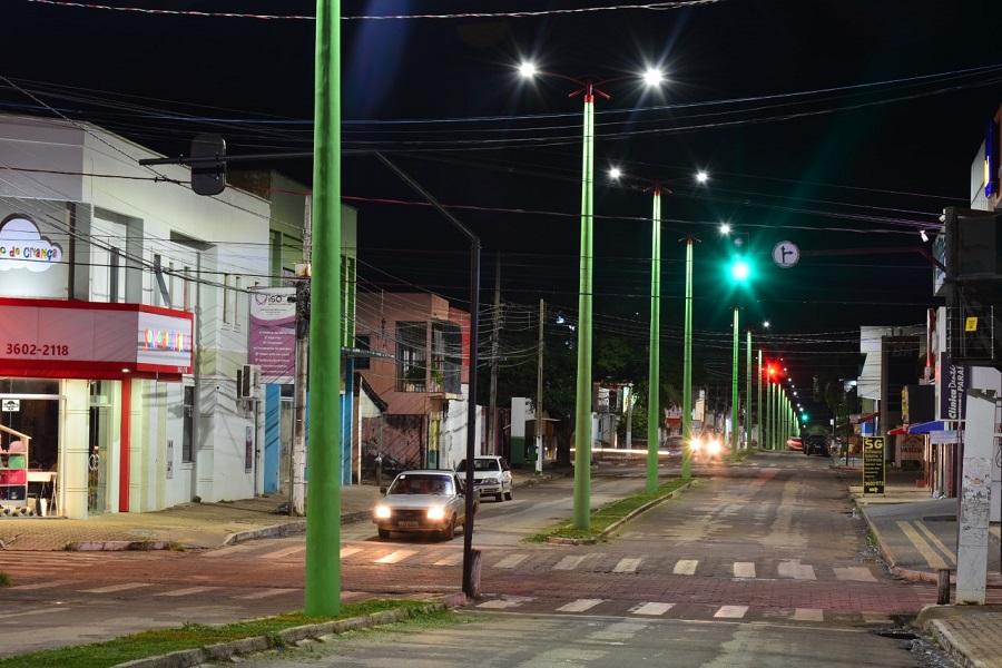 Av. Castelo Branco e a travessia entre o Centro e Jardim Paulista recebem nova iluminação