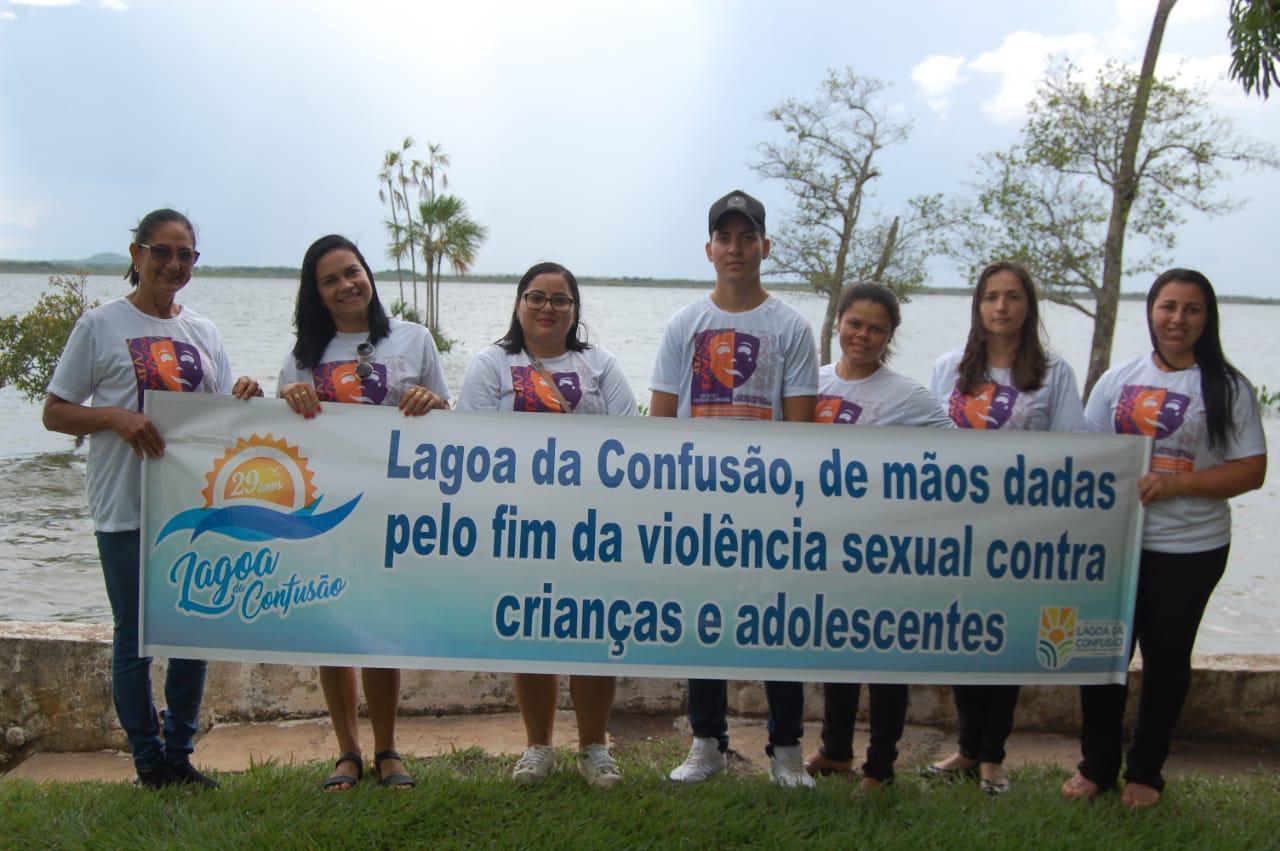 Prefeitura de Lagoa da Confusão realiza mobilização a favor dos direitos das crianças e dos adolescentes