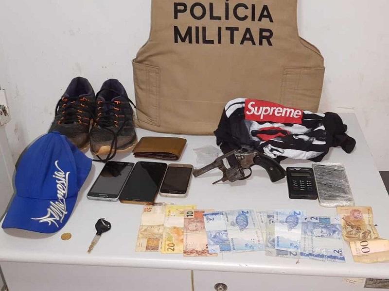 Suspeitos são presos pela PM enquanto preparavam churrasco para comemorar roubo a farmácia em Gurupi