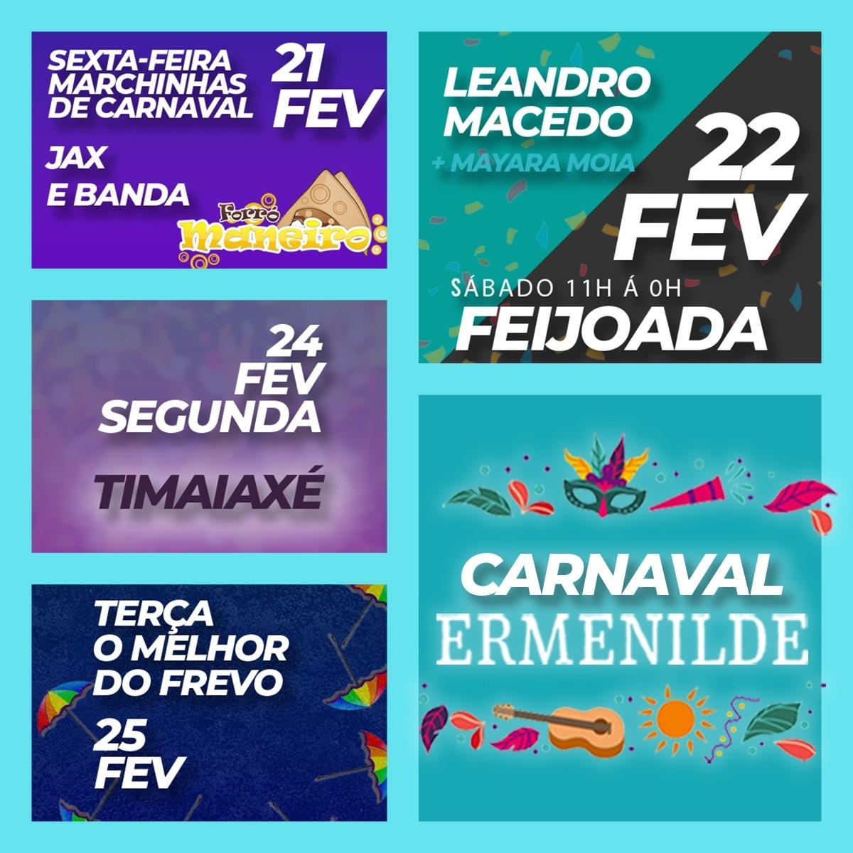 Restaurante Ermenilde entra no ritmo do Carnaval com programação musical especial para a folia