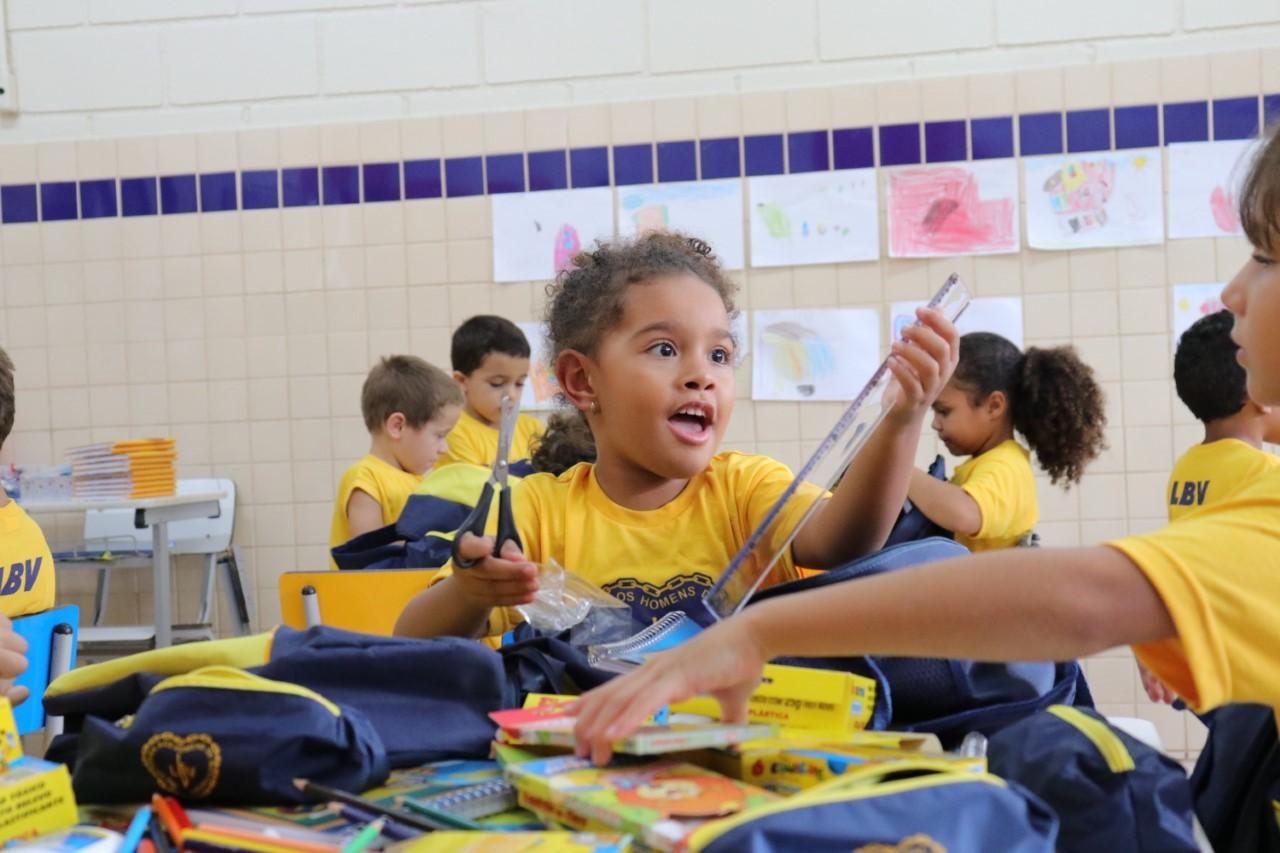Campanha da LBV beneficiará estudantes com a doação de kits de material escolar em Palmas/TO
