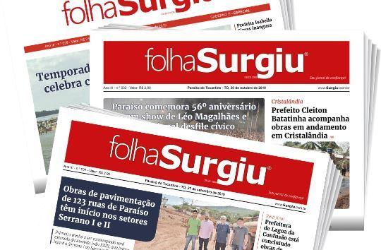 Edição de março da Folha Surgiu está disponível em versão digital para leitura