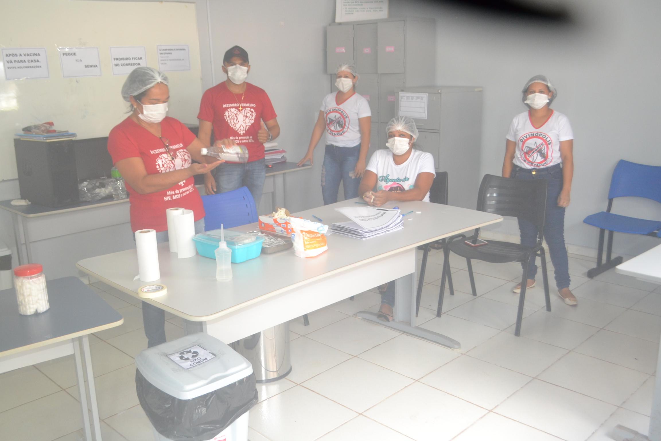 Campanha contra influenza é iniciada em Divinópolis TO