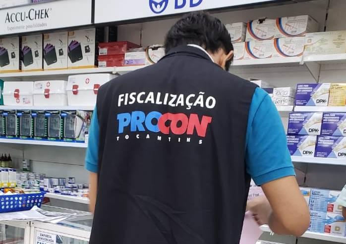Procon Tocantins continua com fiscalização dos preços de álcool gel e autua estabelecimentos