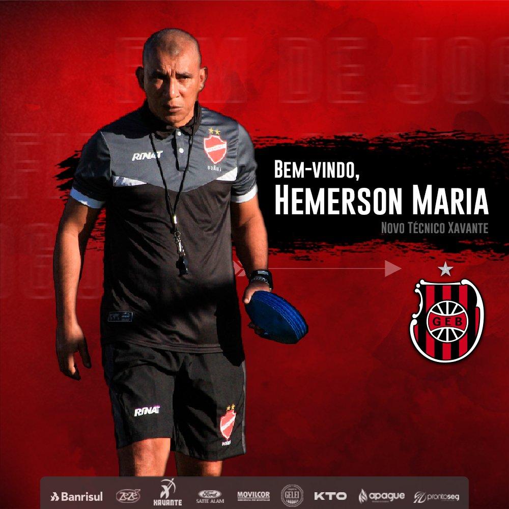 Novo técnico do Brasil de Pelotas, Hemerson Maria revela expectativa para sua primeira experiência no futebol gaúcho