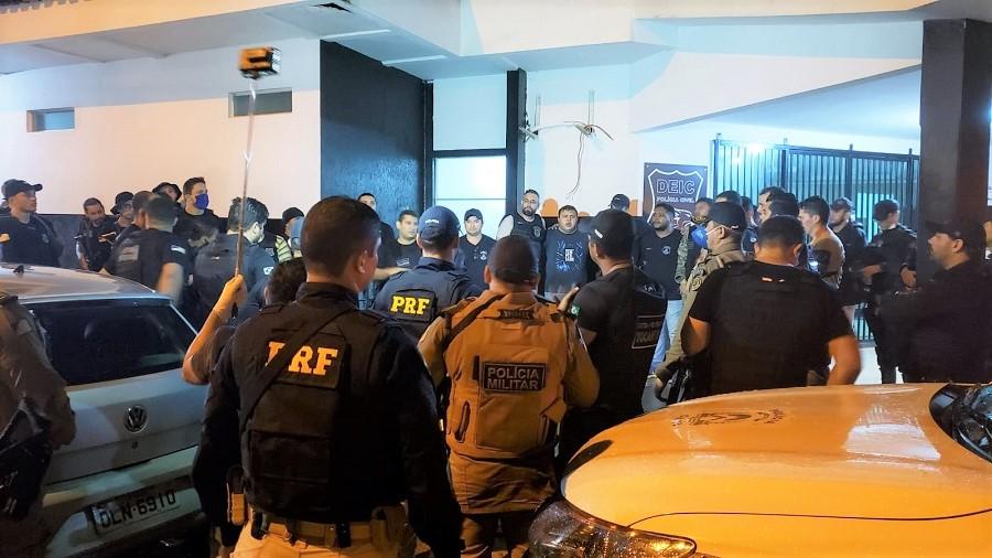 Após horas de negociação, detentos que fugiram da CPP de Guaraí são recapturados