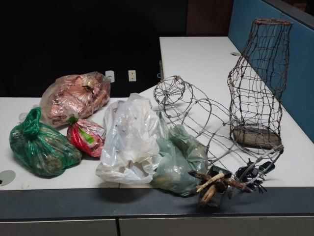 Polícia prende homem suspeito de furto de gado, crime contra a fauna e violência doméstica no TO