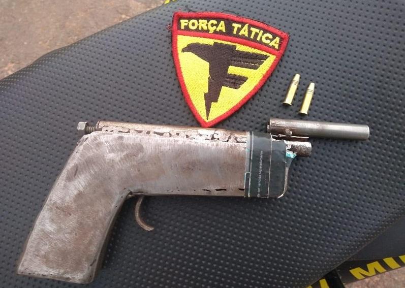 Adolescente de 15 anos é apreendido após ser flagrado portando arma de fogo em Araguaína