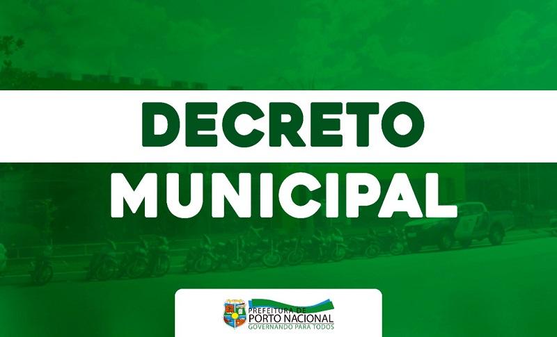 Prefeitura de Porto Nacional publica Decreto de antecipação das férias escolares na Rede Municipal de Ensino