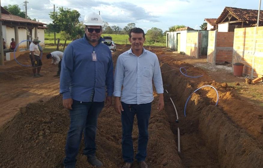 Marianópolis recebe implantação de novas redes de saneamento