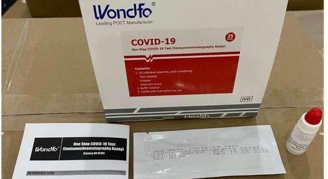 Governo compra 500 mil testes rápidos de covid-19; resultado sai em 20 minutos