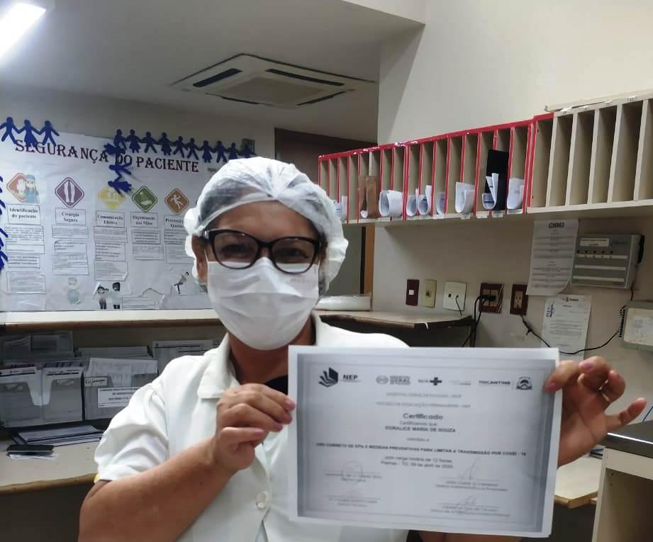 Plataforma  EAD do HGP já qualificou cerca de 700 profissionais de saúde sobre Covid-19