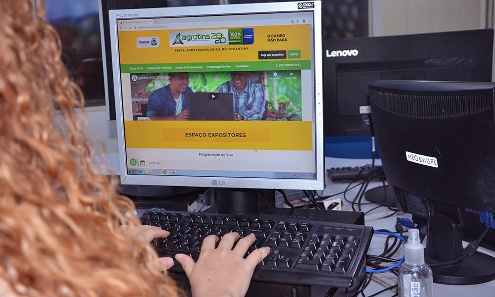 Expositores e participantes aguardam com expectativas início da primeira Agrotins 100% Digital