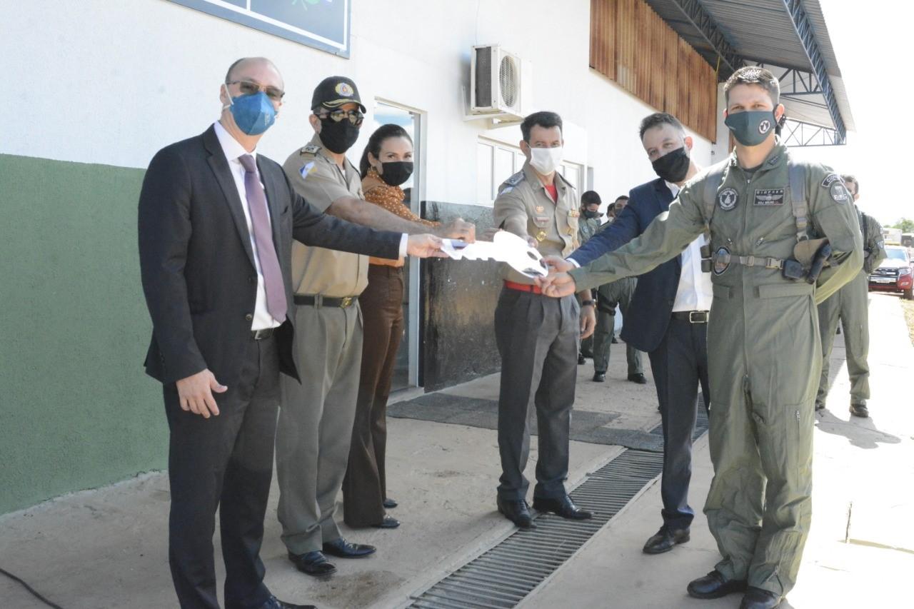 Secretaria da Segurança Pública entrega nova sede administrativa e operacional do Ciopaer