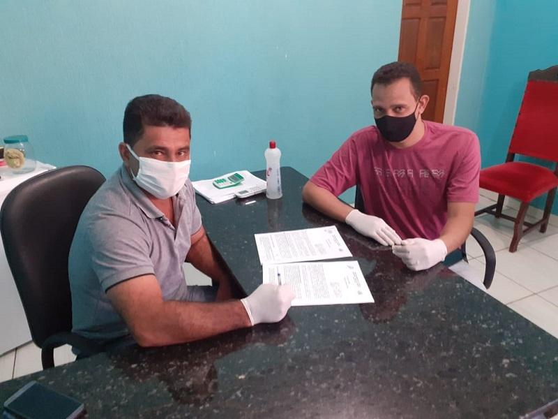 Prefeitura de Tabocão celebra dois novos contratos para pavimentação asfáltica do município
