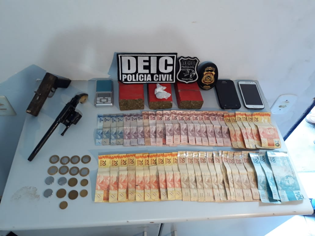 Polícia Civil prende suspeito de ser um dos maiores traficantes de Guaraí e região