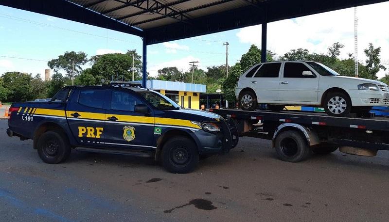 PRF recupera veículo furtado em Paraíso do Tocantins em poucas horas após o crime
