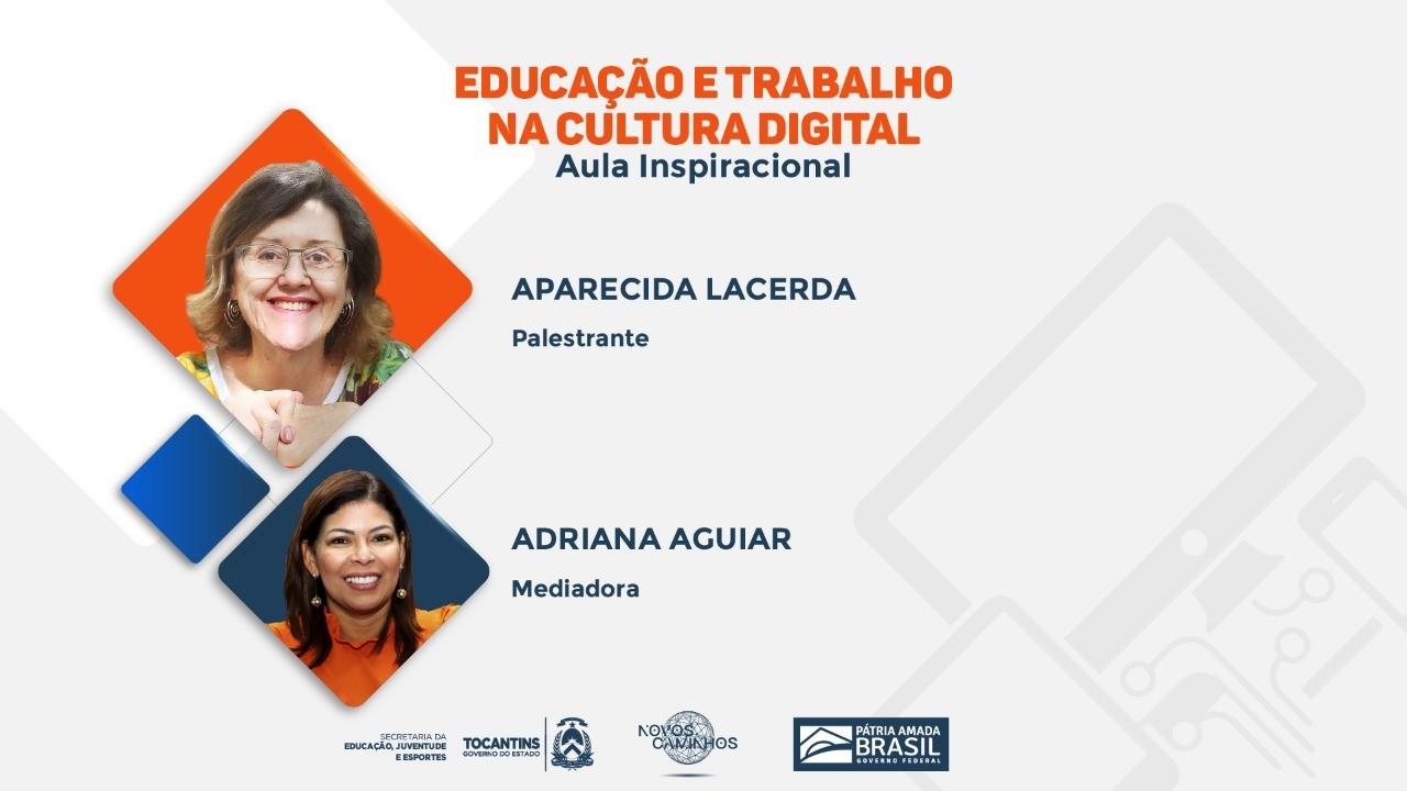 Educação promove aula inaugural on-line do programa Novos Caminhos nesta segunda, 1º