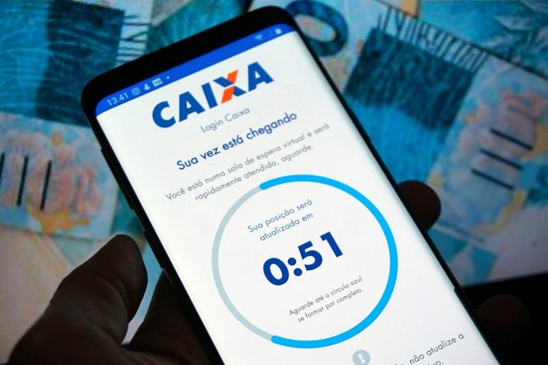 Caixa libera 2ª parcela para 2,6 milhões de beneficiários de auxílio