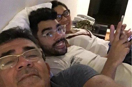 Pai de Gabriel Diniz guarda tudo que era do filho: 'Lembrança gostosa'