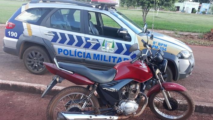 8º BPM: Duas motos são recuperadas e três suspeitos são presos em Monte Santo e Barrolândia