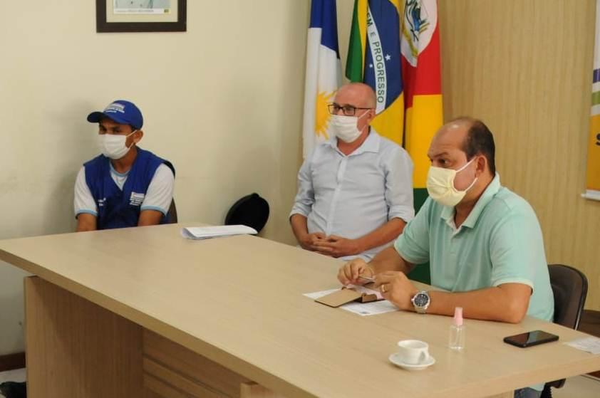 Prefeito de Miracema ouve demandas dos Agentes de Saúde da zona rural do município