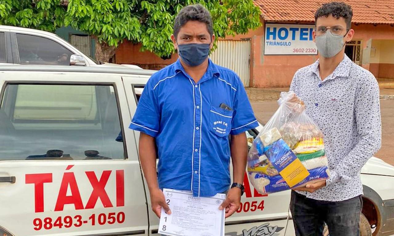 Trabalhadores afetados pela pandemia em Paraíso recebem apoio do Governo do Tocantins