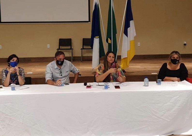 Sindepol-TO participa de reunião sobre reforma da Previdência