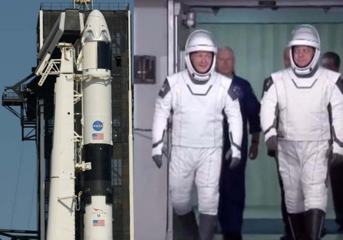 Nasa e Space X levam astronautas ao espaço hoje com transmissão ao vivo; assista