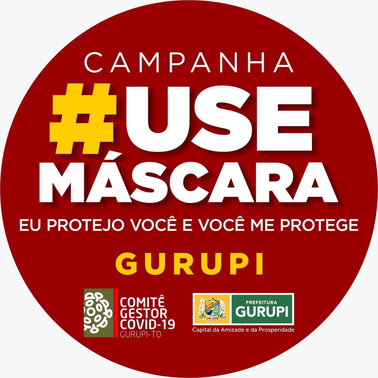 Prefeitura de Gurupi distribuirá 20 mil máscaras a cadastrados no CadÚnico