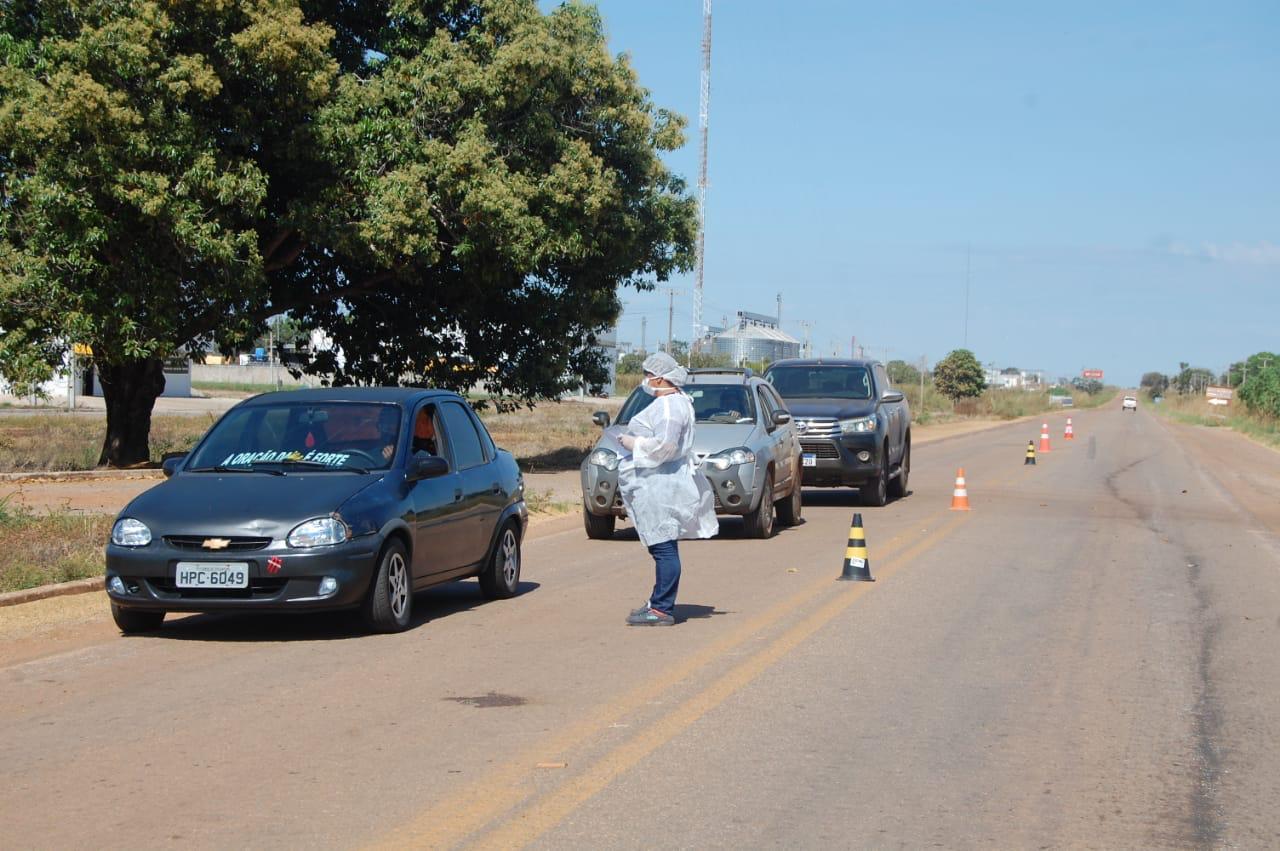 Coronavírus: Prefeitura de Lagoa da Confusão instala barreiras sanitárias