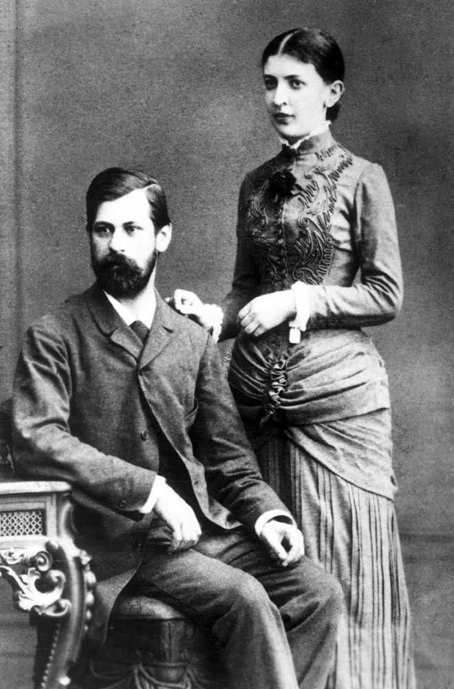 A relação tumultuada de Freud com sua esposa, Martha Bernays