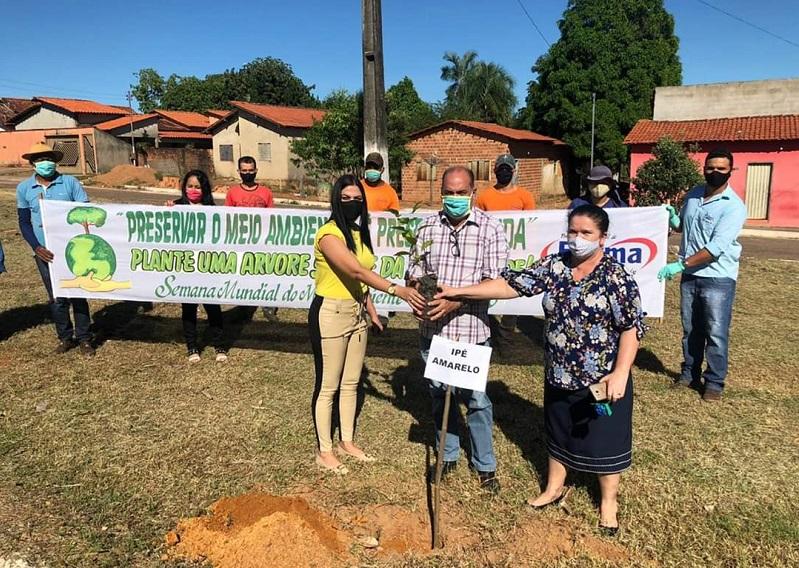 Prefeitura de Fátima realiza ação de conscientização ao Meio Ambiente