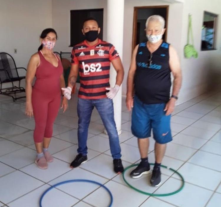 Prefeitura de Caseara investe em interação social para pessoas da terceira idade durante pandemia