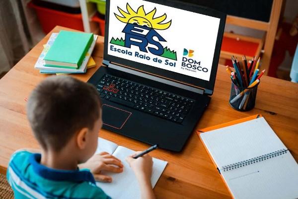 Escola Raio de Sol, em Paraíso, dá dicas para organizar a rotina de estudos em casa