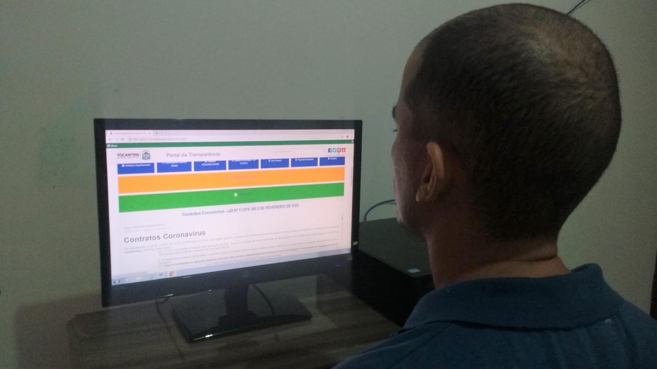 Governo do Tocantins implementa melhorias no Portal da Transparência desde o início da pandemia